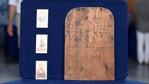 Antiques Roadshow -- Appraisal: 1863 Civil War Grave Marker Group