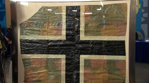 Antiques Roadshow -- Appraisal: WWI German Aircraft Fabric Fragment, ca. 1918