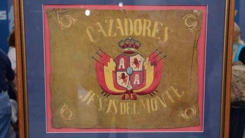 Antiques Roadshow -- S20 Ep18: Appraisal: Cuban Volunteer Cazadores Flag, ca. 189