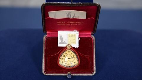 Antiques Roadshow -- S20 Ep18: Appraisal: Andy Warhol-owned Jules Jürgensen Watch