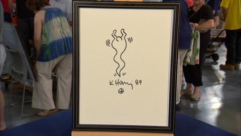 Antiques Roadshow -- S20 Ep18: Appraisal: 1989 Keith Haring Ink Marker Drawing