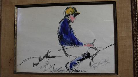 Antiques Roadshow -- S20 Ep18: Web Appraisal: 1961 Leroy Neiman Watercolor