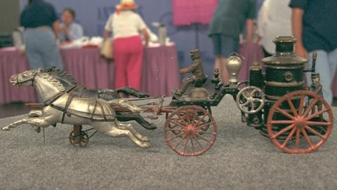 Antiques Roadshow -- S20 Ep19: Appraisal: Ives Oversized Fire Pumper, ca. 1912