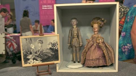 Antiques Roadshow -- S20 Ep19: Appraisal: Henri d'Allemagne Dolls, ca. 1920