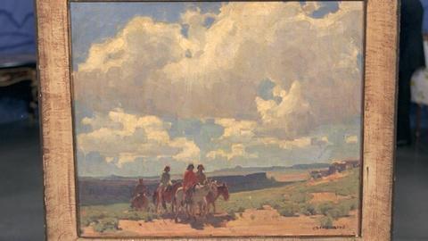 Antiques Roadshow -- S20 Ep19: Appraisal: Edgar Alwin Payne Painting, ca. 1925