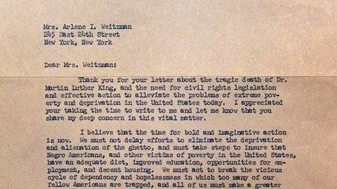 Antiques Roadshow -- S20 Ep20: Appraisal: 1968 Robert F. Kennedy Letter