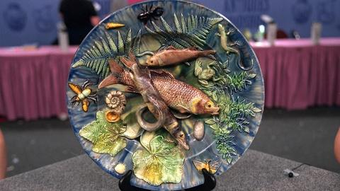 Antiques Roadshow -- S20 Ep20: Appraisal: French Palissy Ware Charger, ca. 1880