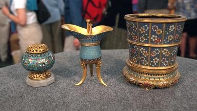 Appraisal: Chinese Cloisonné Vessels