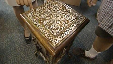 Antiques Roadshow -- S20 Ep20: Appraisal: Inlaid Table, ca. 1900