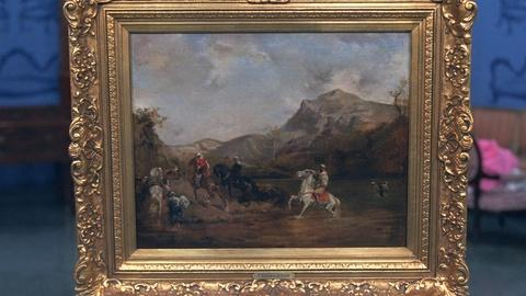 Antiques Roadshow -- Appraisal: Eugene Fromentin Painting, ca. 1860