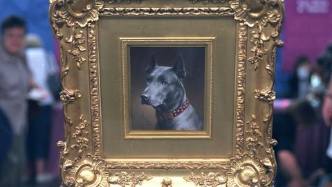 Antiques Roadshow -- Appraisal: Carl Reichert Dog Portrait, ca. 1900