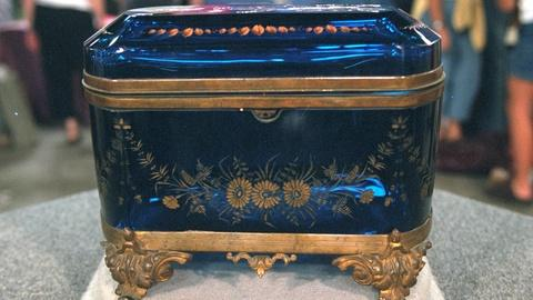 Antiques Roadshow -- Appraisal: Bohemian Glass Jewel Casket, ca. 1875
