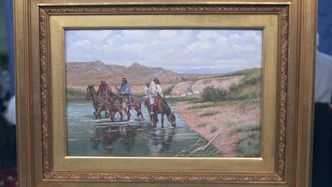 Antiques Roadshow -- Appraisal: 1909 John Hauser Gouache Painting