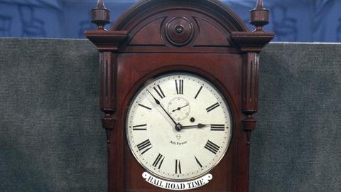 Antiques Roadshow -- Appraisal: Seth Thomas Dual Dial Clock, ca. 1880