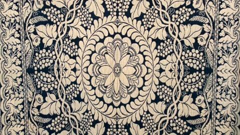 Antiques Roadshow -- Appraisal: Jacquard Coverlet, ca. 1850