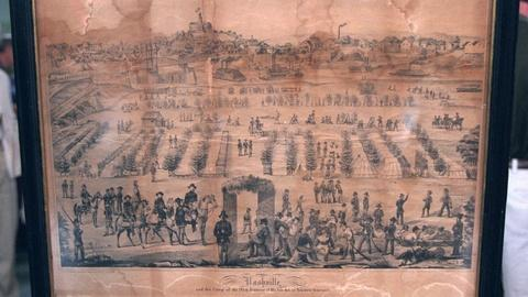 Antiques Roadshow -- Appraisal: Union Camp at Nashville Print, ca. 1863
