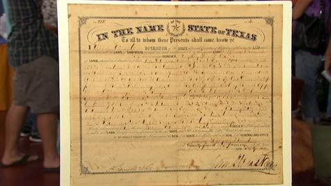 Antiques Roadshow -- S17 Ep1: Appraisal: Sam Houston Land Grant 1861