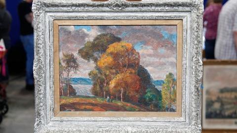 Antiques Roadshow -- S17 Ep14: Appraisal: Harvey T. Dunn Landscape