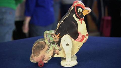 Antiques Roadshow -- S19 Ep9: Appraisal: Fisher Price Penelope & Baby Penguin, ca