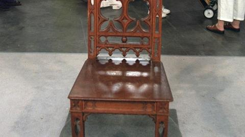 Antiques Roadshow -- Appraisal: Gothic Revival Hall Chair, ca. 1850