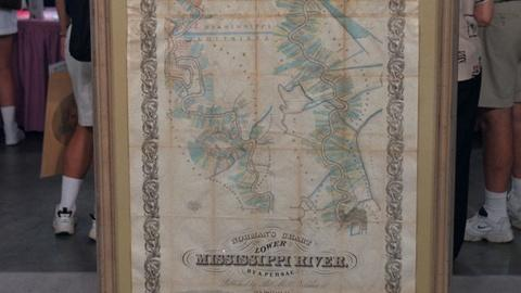 Antiques Roadshow -- S20 Ep22: Appraisal: 1858 Map of Lower Mississippi