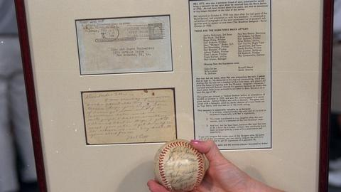 Antiques Roadshow -- S20 Ep22: Appraisal: 1955 Brooklyn Dodgers World Series Ball