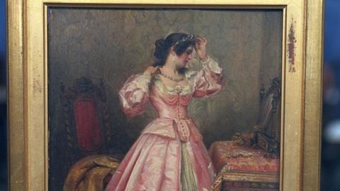 Antiques Roadshow -- S20 Ep22: Appraisal: Ignacio de Leon y Escosura Painting, ca