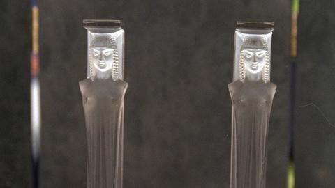 """Antiques Roadshow -- S20 Ep22: Appraisal: Lalique """"Caryatide"""" Supports, ca. 1920"""
