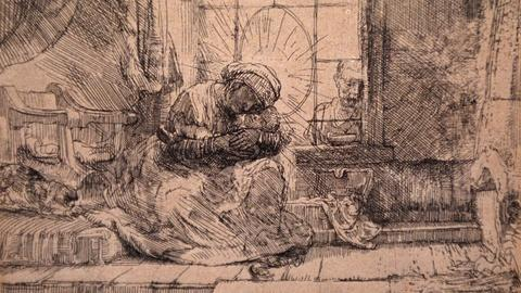 Antiques Roadshow -- S20 Ep22: Appraisal: 1654 First State Rembrandt Etching