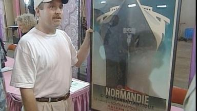 "Appraisal: 1935 Cassandre ""Normandie"" Poster"