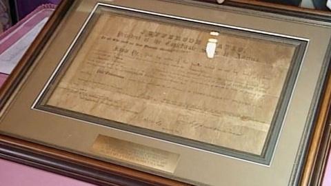 Antiques Roadshow -- Appraisal: 1861 Jefferson Davis Letter of Marque