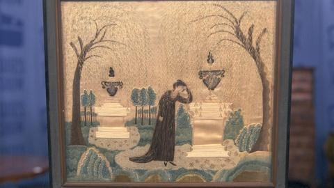 Antiques Roadshow -- S21 Ep21: Appraisal: Mourning Embroidery, ca. 1810