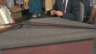 Appraisal: Christian Beck Flintlock Rifle, ca. 1810
