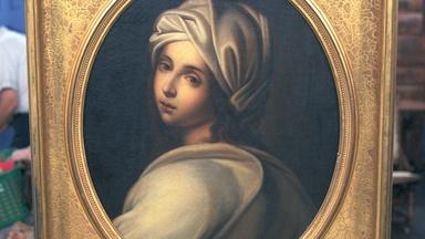 Appraisal: 19th-Century Copy of Reni Painting & Frame