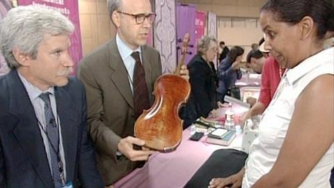 Antiques Roadshow -- Appraisal: 1792 Joseph Hornsteiner Mittenwald Violin
