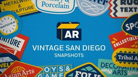 Antiques Roadshow -- Snapshots | Vintage San Diego