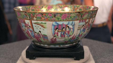 Antiques Roadshow -- Appraisal: Chinese Export Bowl, ca. 1860