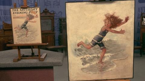 Antiques Roadshow -- Appraisal: Sarah Stilwell Weber Illustration Painting