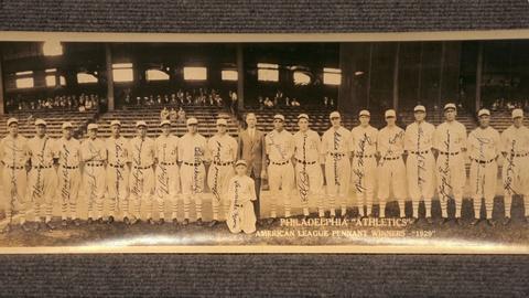 Antiques Roadshow -- Appraisal: 1929 Philadelphia Athletics Photo