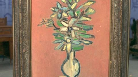 Antiques Roadshow -- Appraisal: Rene Portocarrero Painting, ca. 1958