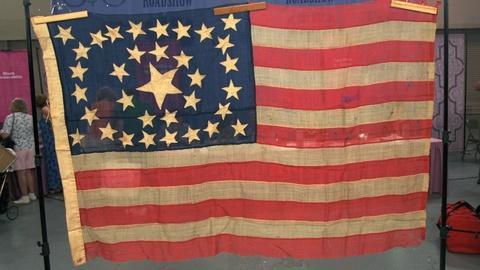 Antiques Roadshow -- Appraisal: 34-Star Civil War Flag