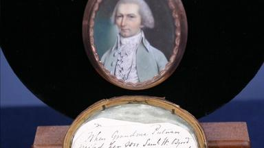 Appraisal: Samuel Osgood Miniature Portrait, ca. 1790