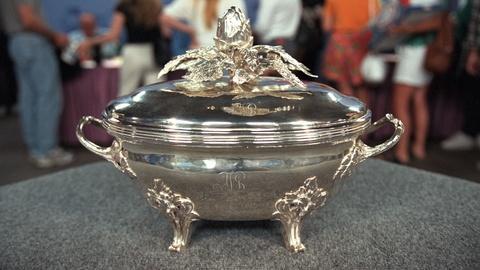 Antiques Roadshow -- S20 Ep25: Appraisal: 1774 Louis XVI Silver Soup Tureen