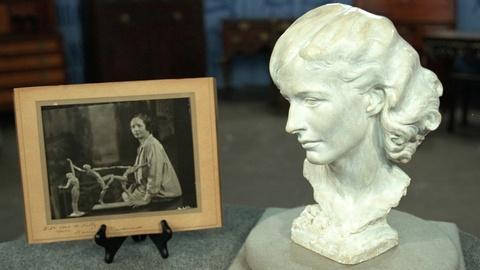 Antiques Roadshow -- S20 Ep25: Appraisal: 1930 Harriet Frishmuth Plaster Cast