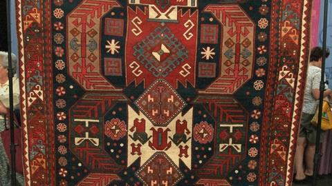 Antiques Roadshow -- S20 Ep25: Appraisal: Karabagh Rug, ca. 1920