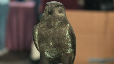 Antiques Roadshow -- S20 Ep25: Appraisal: Late Period Egyptian Bronze Falcon
