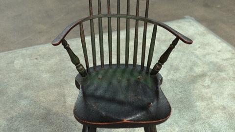 Antiques Roadshow -- S20 Ep25: Appraisal: New England Windsor Armchair, ca. 1800