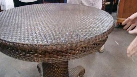 Antiques Roadshow -- S20 Ep25: Appraisal: Heywood-Wakefield Table, ca. 1910