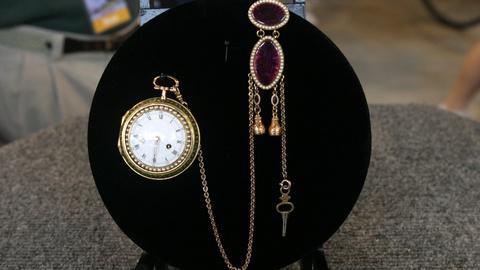 Antiques Roadshow -- S20 Ep27: Appraisal: Pocket Watch & Chatelaine, ca. 1790
