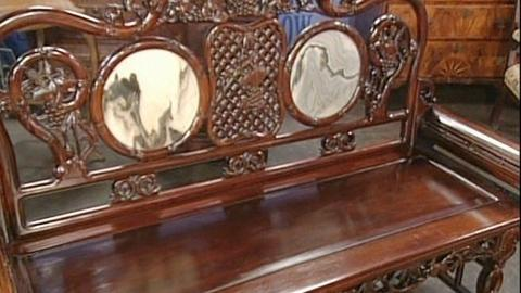 Antiques Roadshow -- S20 Ep28: Appraisal: Chinese Settee, ca. 1890